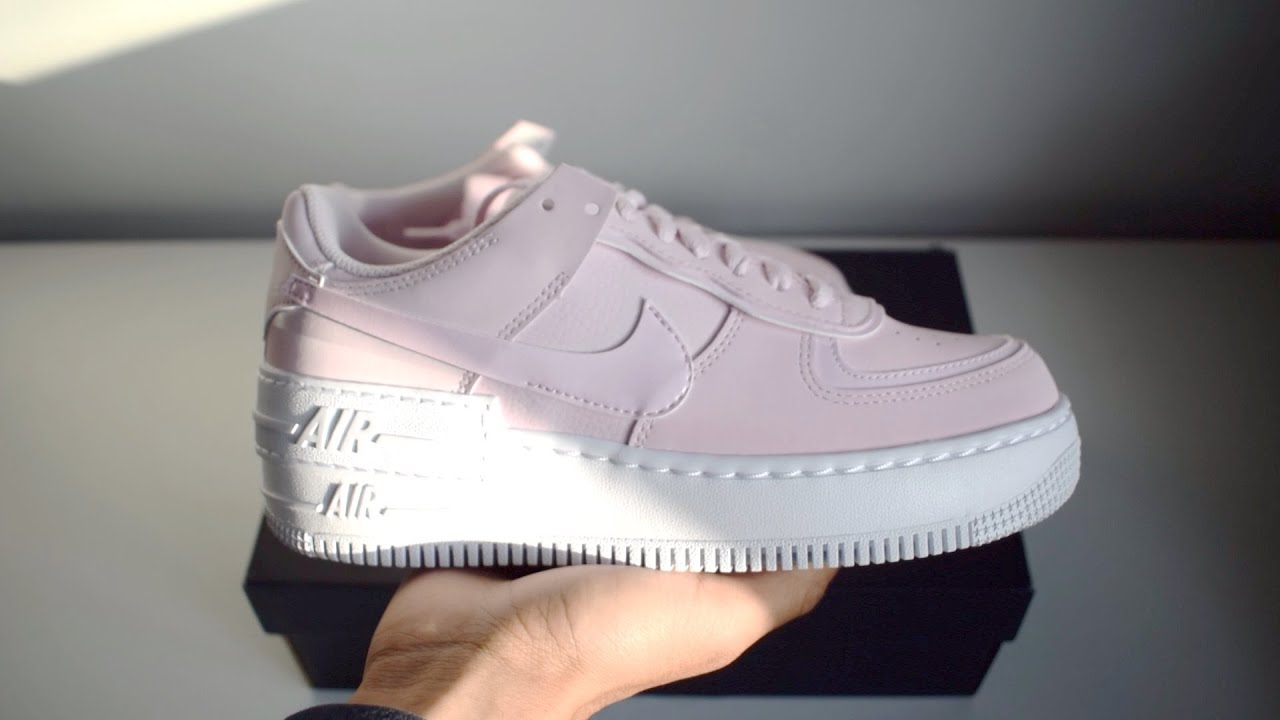 The Nike Air Force 1 Shadow Foam Pink Unboxing Youtube Look for the nike air force 1 pink quartz to release on january 1st at select retailers and nike.com. the nike air force 1 shadow foam pink unboxing