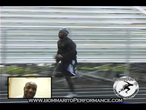 Rudi Johnson Running Back Training - BommaritoPerformance.com