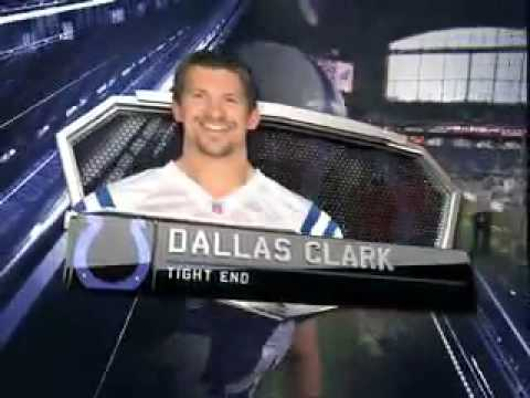 2010 NFL PLAYER OF THE YEAR AWARDS AS NARRATED BY BILL VOGEL DALLAS CLARK 44