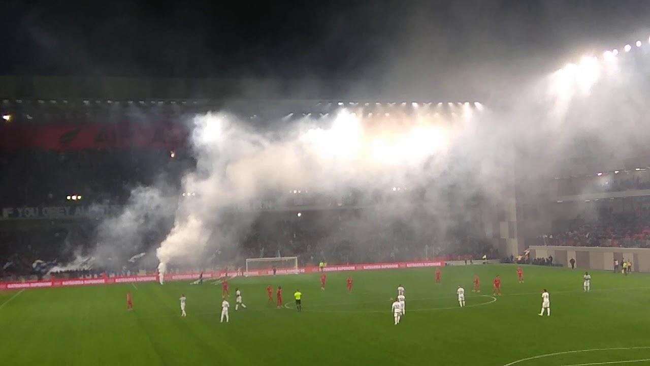 Tirana's first derby in Air Albania Stadium - AG