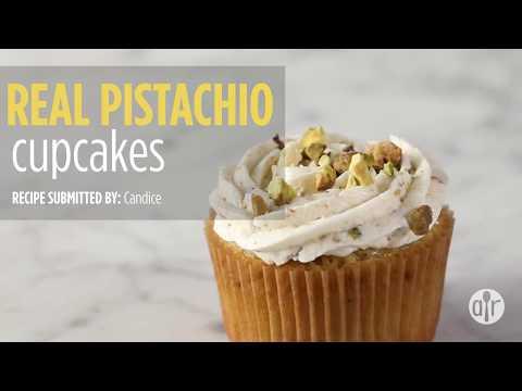 How To Make Real Pistachio Cupcakes | Dessert Recipes | Allrecipes.com