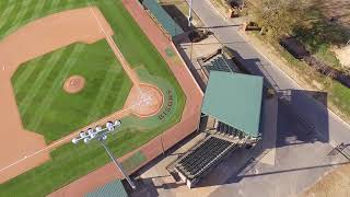 2017 Harding Baseball Facilites at Jerry Moore Field