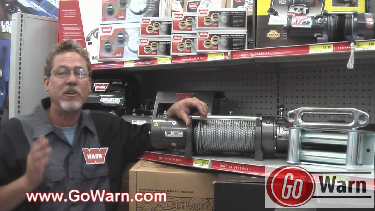 Warn M8000 - More Options Than Any Other Winch