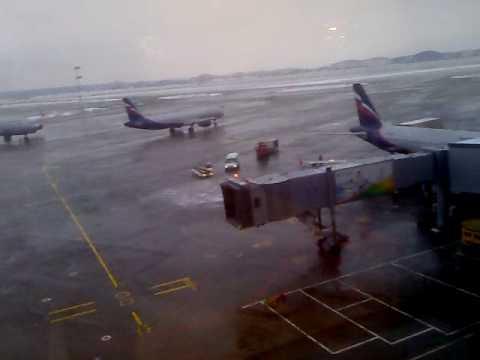 Sheremetyevo International Moscow airport (SVO)