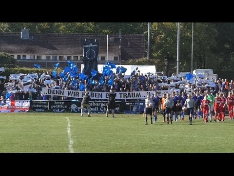 HFC Falke – TSV Buchholz 08 (4. Runde, Pokal der 1. Herren 2015/2016) - Spielszenen | ELBKICK.TV