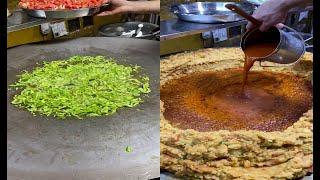 Mumbai's Biggest Pav Bhaji Making   250 Plates Pav Bhaji Making   @ 50 Rs Plate   Indian Street Food