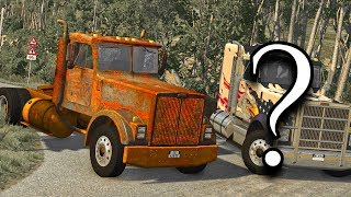 Restoring Abandoned Trucks - Episode #1 / BeamNG.drive