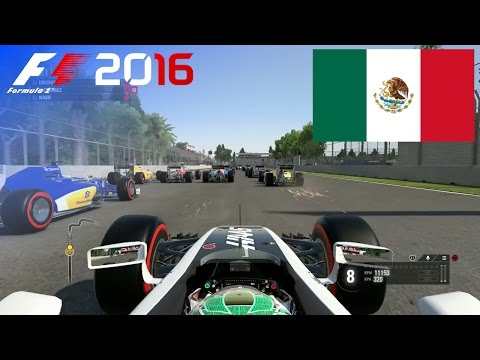 F1 2016 - 100% Race at Autódromo Hermanos Rodríguez, Mexico in Gutiérrez' Haas