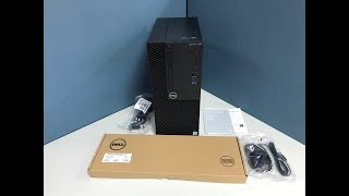 Dell OptiPlex 3060 Tower Computer Unboxing