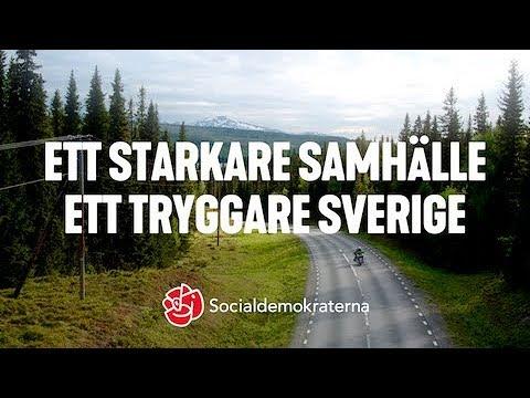 Ett starkare samhälle. Ett tryggare Sverige. socialdemokraterna 61ff239103c42