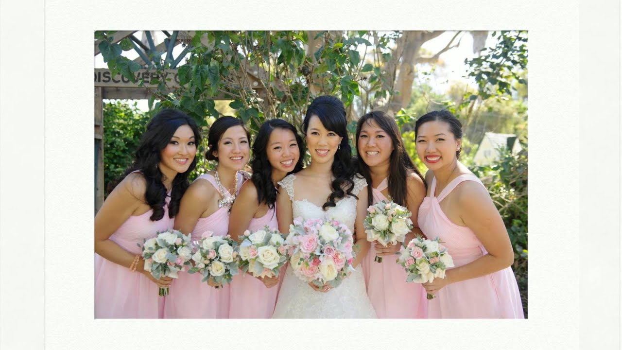 South Coast Botanic Garden Wedding Melissa And Brian   YouTube