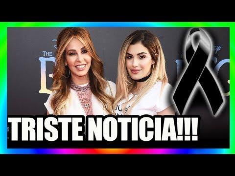 TRISTE NOTICIA famosa PRESENTADORA esta de LUT0 HOY!