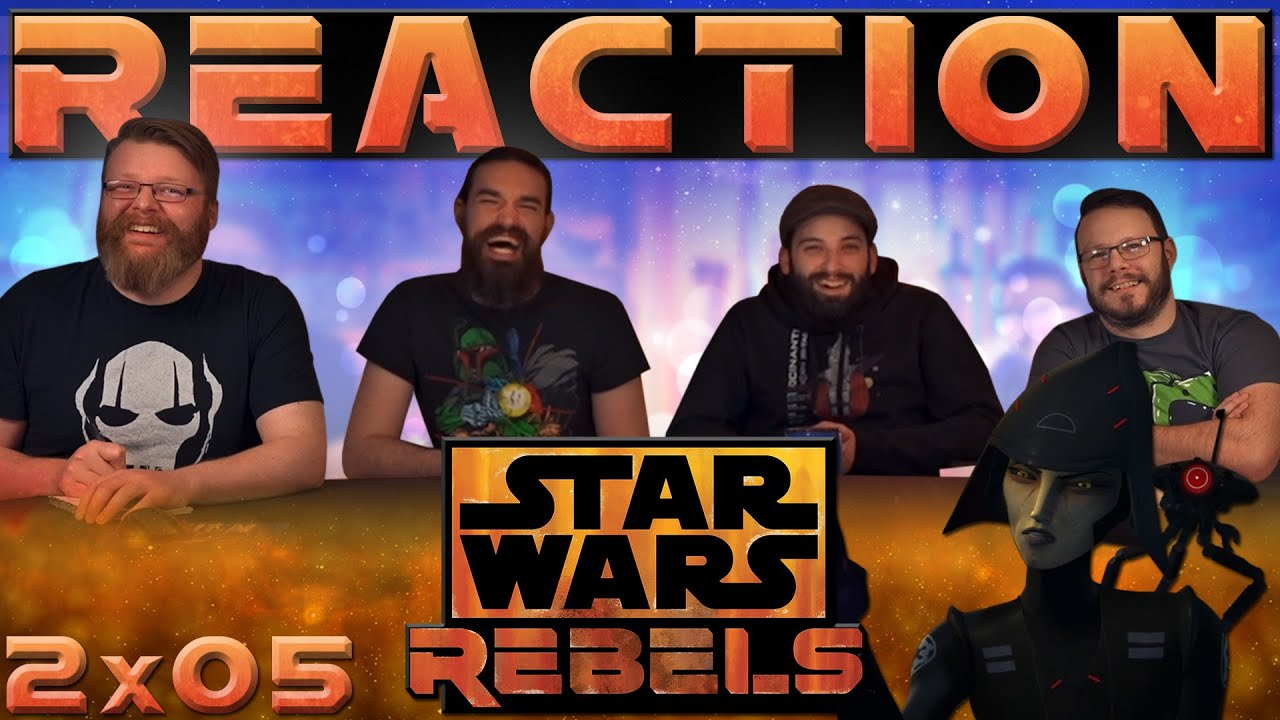 """Download Star Wars Rebels 2x5 REACTION!! """"Always Two There Are"""""""