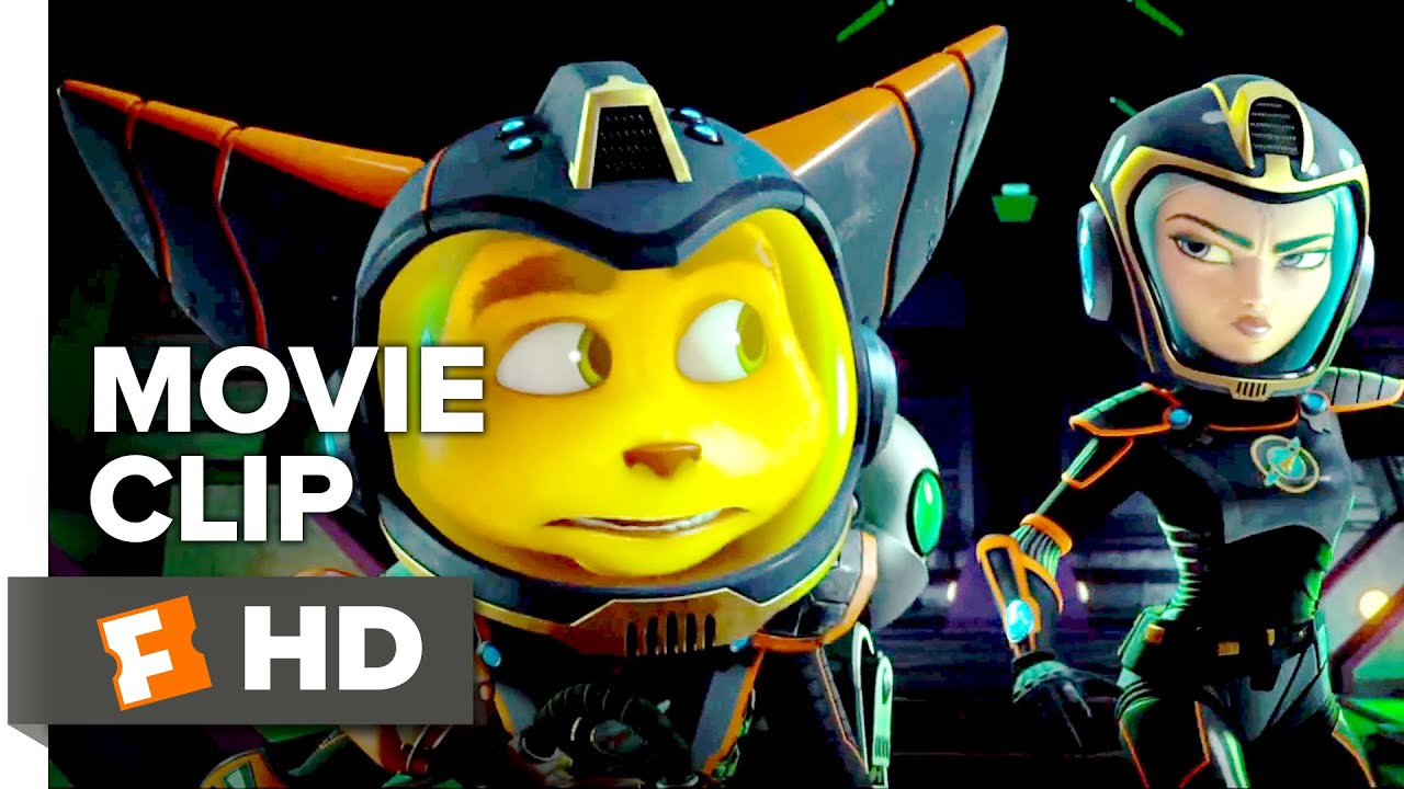 Ratchet Clank Movie Clip Phase One 2016 Bella Thorne Movie Hd Youtube