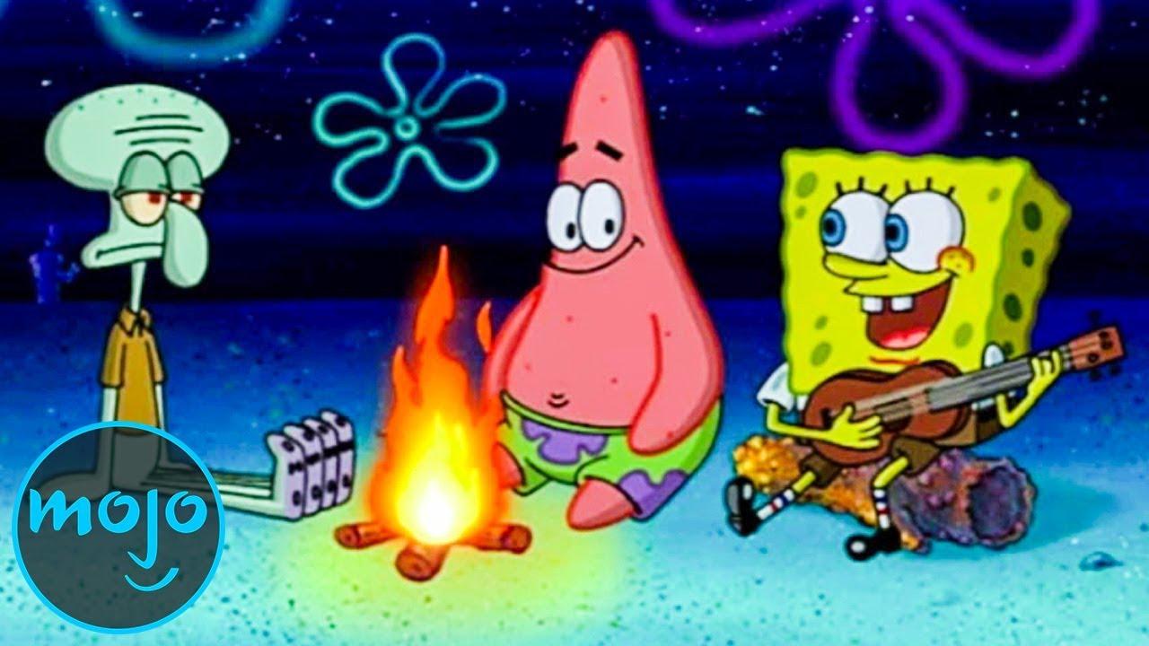 top 10 best spongebob squarepants songs youtube