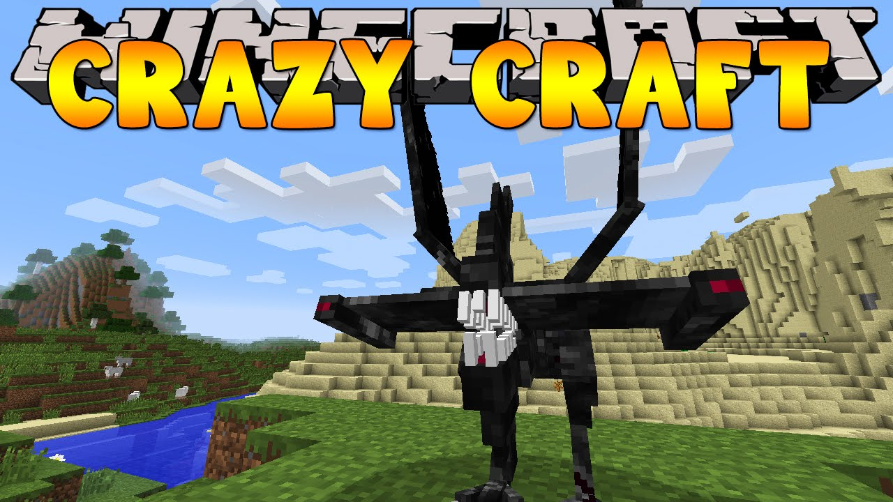 Minecraft crazy craft 3 0 nightmare attack 9 youtube for Crazy craft 3 0 server