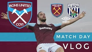 West Ham United 2 Vs 1 West Bromwich Albion | Match Day Vlog | Jackinthevlogs