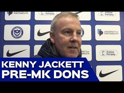 Kenny Jackett Pre-MK Dons