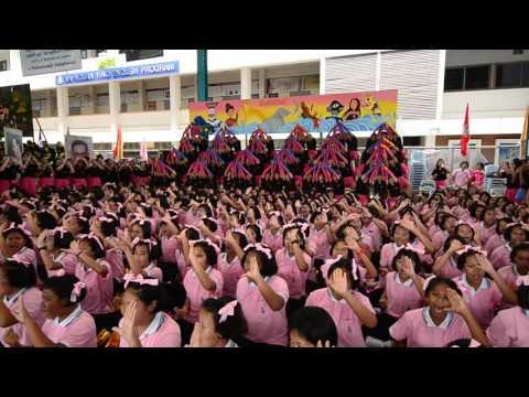 โชว์กองเชียร์คณะชมพูพันธุ์ทิพย์ (สีชมพู) :ลัดดาวัลย์เกมส์ 2559
