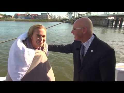 Wet blooper reporter part 2 interview Sail Kampen