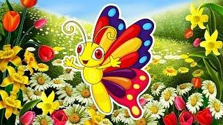 Мультик о БАБОЧКАХ. 🦋🌸🦋 Самые красивые БАБОЧКИ для детей и их родителей 🌺 Бабочки для малышей