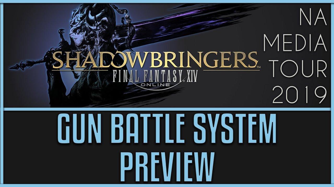 FFXIV: Shadowbringers Battle System Changes - GUN (New Job!)