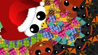MOPE.IO HACKER TROLLING BLACK DRAGON!! // Can You Find Santa? (Mope.io Funny Moments)