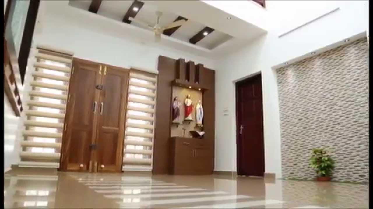 Veedu modern kerala victorian house youtube for Veedu plan kerala style