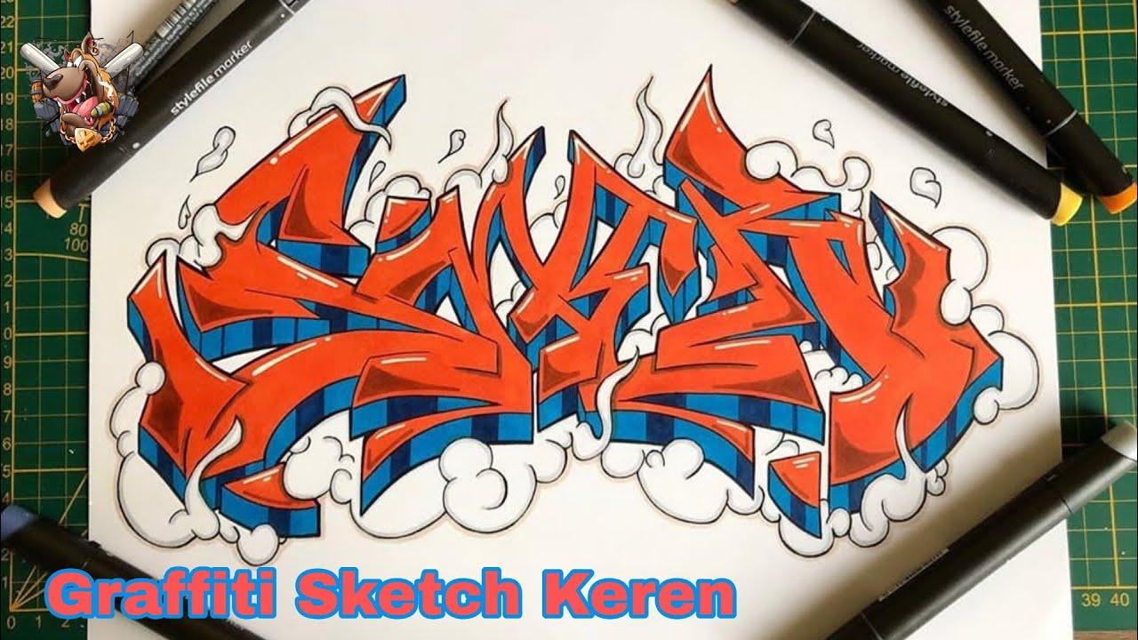 Graffti 3D Graffiti Kertas Keren