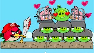 Angry Birds Heroic Rescue - RESCUE ALL STELLA AFTER KNOCK OUT THE PIGGIES!