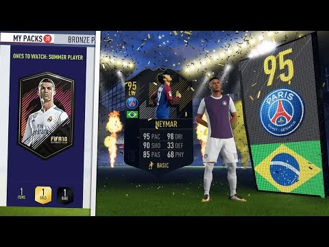 I PACKED 95 OTW NEYMAR! | 30x GUARANTEED OTW PACKS! (FIFA 18 Ultimate Team)