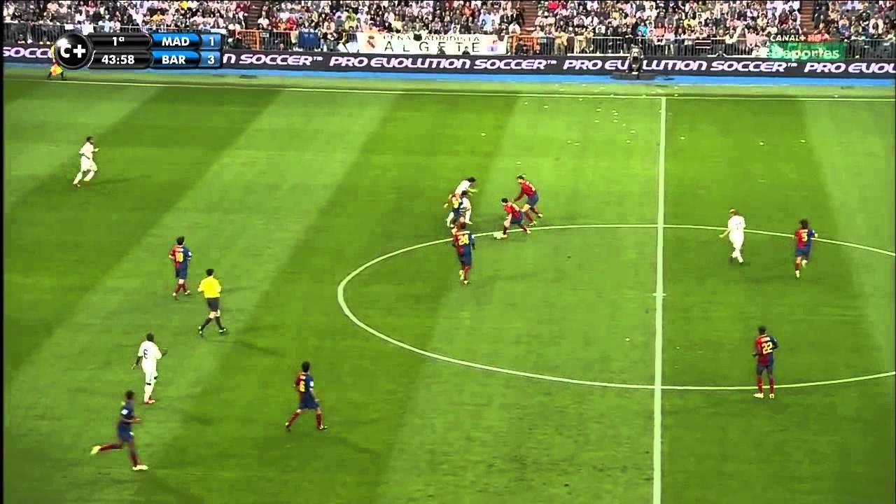 real madrid vs barcelona 2 6 full match la liga 2 5 2009 hd youtube