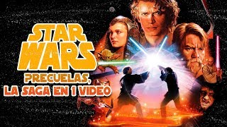 Star Wars:(Trilogia Precuelas Episodio 1,2 y 3) La Saga en 1 Video
