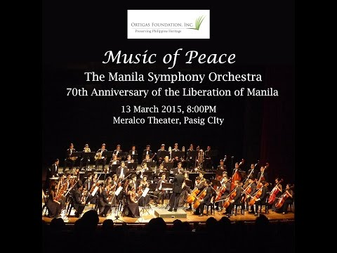 Music of Peace (Full Video): Manila Symphony Orchestra Commemorative Concert