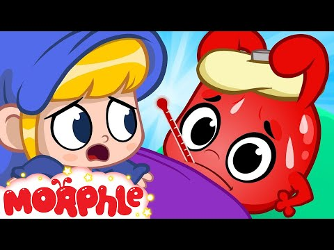 Oh No Morphle Is Sick - My Magic Pet Morphle | Cartoons For Kids | Morphle TV | BRAND NEW thumbnail