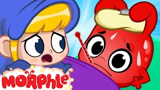 Oh No Morphle Is Sick - My Magic Pet Morphle | Cartoons For Kids | Morphle TV | BRAND NEW