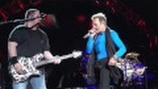 VAN HALEN - DROP DEAD LEGS - FEEL YOUR LOVE TONIGHT - FRONT ROW PIT CONCORD CALIFORNIA 7.9.15