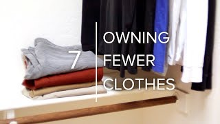 How To Own Fewer Clothes