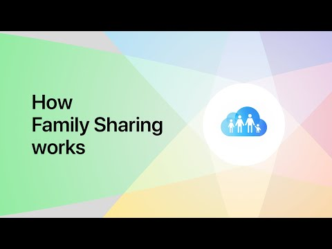 How Family Sharing Works — Apple Support