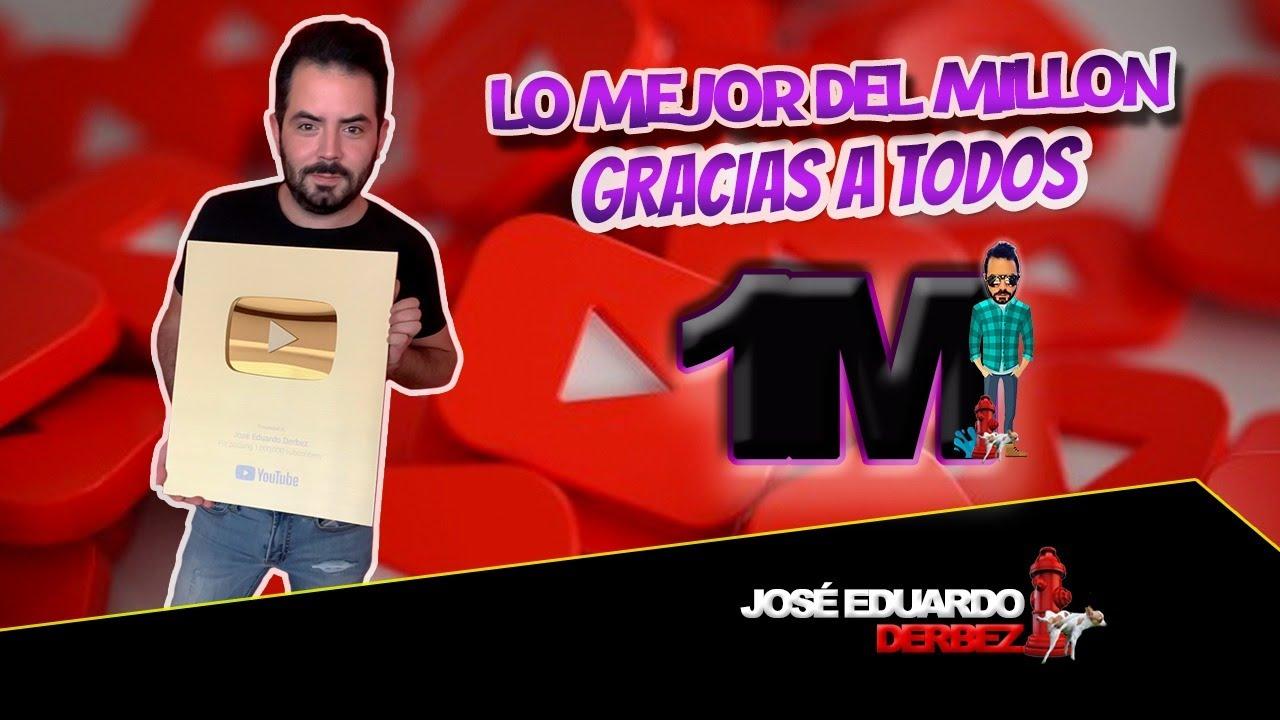 ¡¡LO MEJOR DEL MILLÓN DE SUSCRIPTORES!! 🤩 | ¡GRACIAS A TODOS! | José Eduardo Derbez