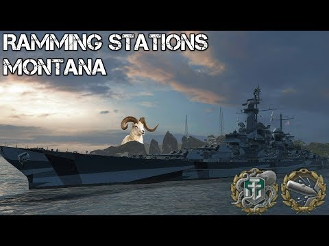 World of Warships - Ramming Stations - Montana