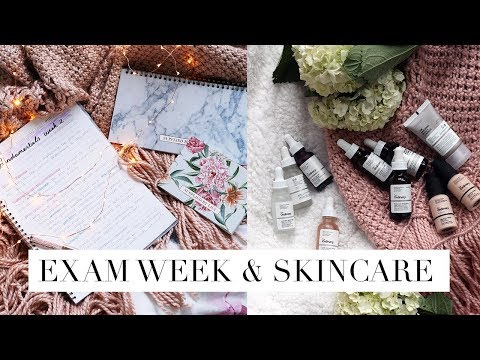 MY FIRST AMERICAN LAW SCHOOL/UNI EXAMS + SKIN CARE TALK | DC Diaries #12