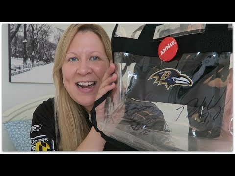 What's In My Clear Bag For NFL Football Games? | 2017 Rules + Tips!