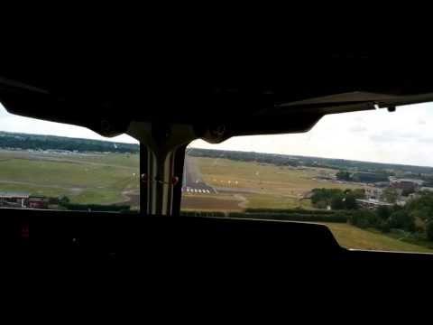 Landing in BA 146 - the Queen