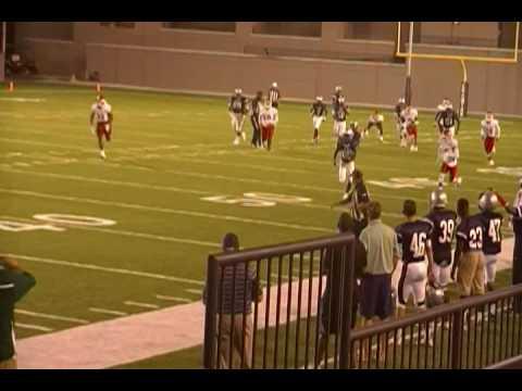 Park Crossing Thunderbirds Quarterback Malik Cunningham Touchdown Run vs Robert E Lee Generals