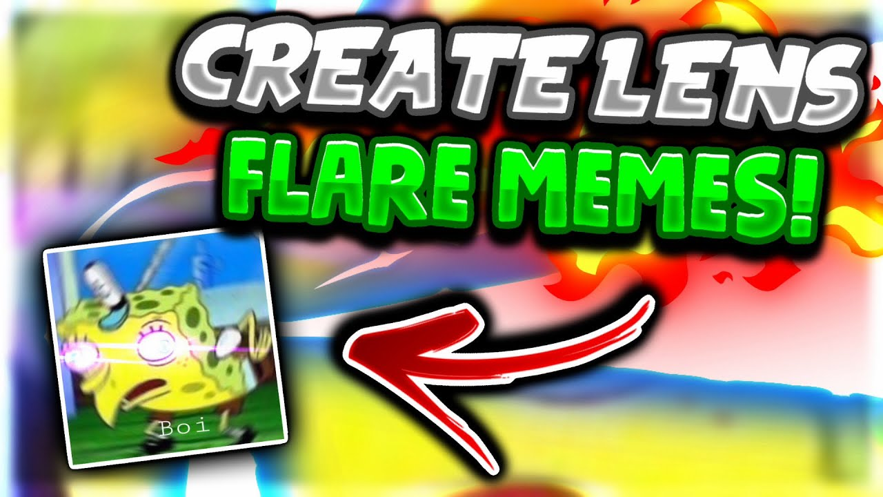 how to create lens flare