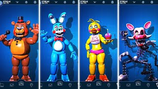 FNAF AR Special Delivery - Toy Animatronics Workshop Animations