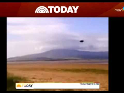 Breaking News Ufo Sighting On Today Show Youtube