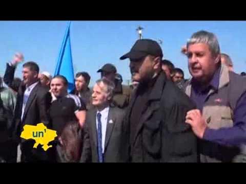 Crimean Tatar leader Mustafa Cemilev slams Russia UN1 06/05/2014 06 May 2014