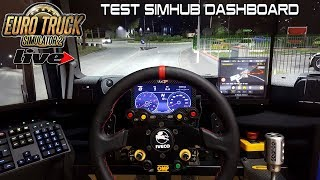 Testing Simhub Dashboard With Ets2 From Youtube - The